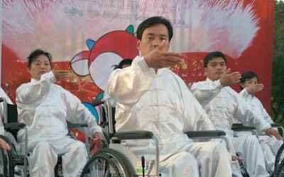 Wheelchair Tai Chi (Moving)